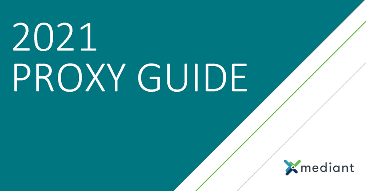2021 Annual Proxy Guide