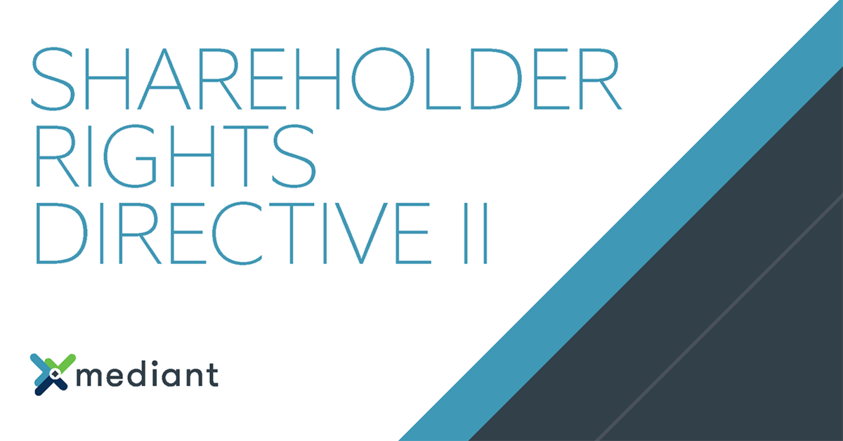Shareholder Rights Directive II