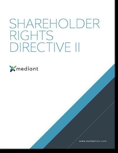 Shareholder Rights Directive II